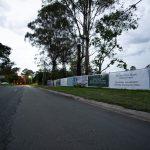 Mesh banner fence wrap in Lawnton