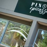Fascia sign and window lettering for Pinot and Picasso