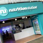 Shop signage - Nutrition Station