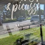 Vinyl lettering for Pinot And Picasso Coomera
