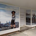 Shopfront signage - Retail signage - Window stickers for KOOKAI