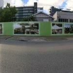 Hoarding signage