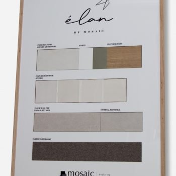Finishes board - Elan by Mosaic