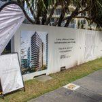 Hoarding Wall - Sales Display Signage - Natura