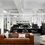 Illuminated Office Wall Sign for BLACKROC